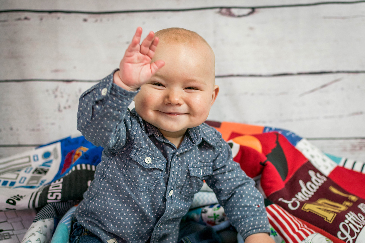 A wonderful little boy, at our on home toddler photography session