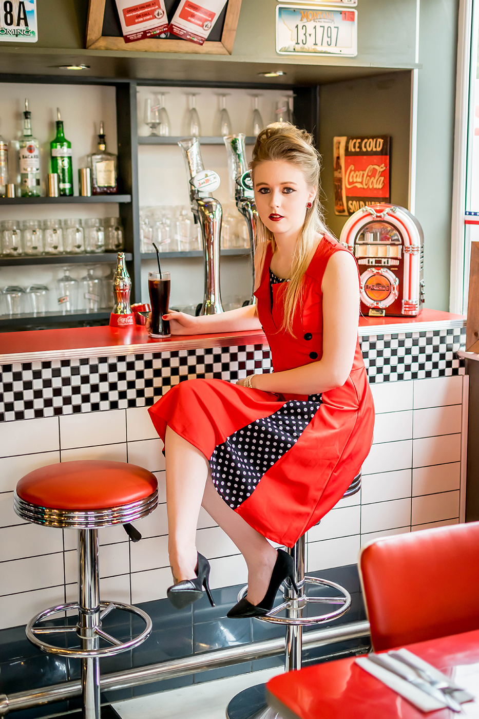 50s Style Diner Shoot 0008