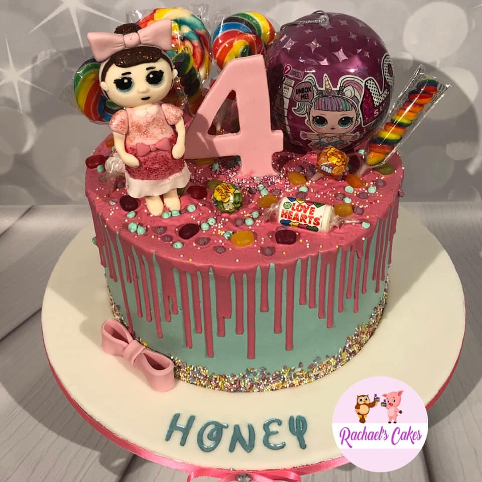 Girls-birthday-Cake-with-doll