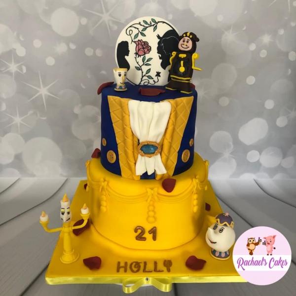 Fairy-Tale-Girls-Birthday-Cake