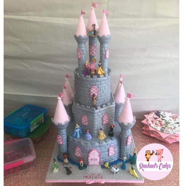 Princess-Birthday-Cake-for-Girl