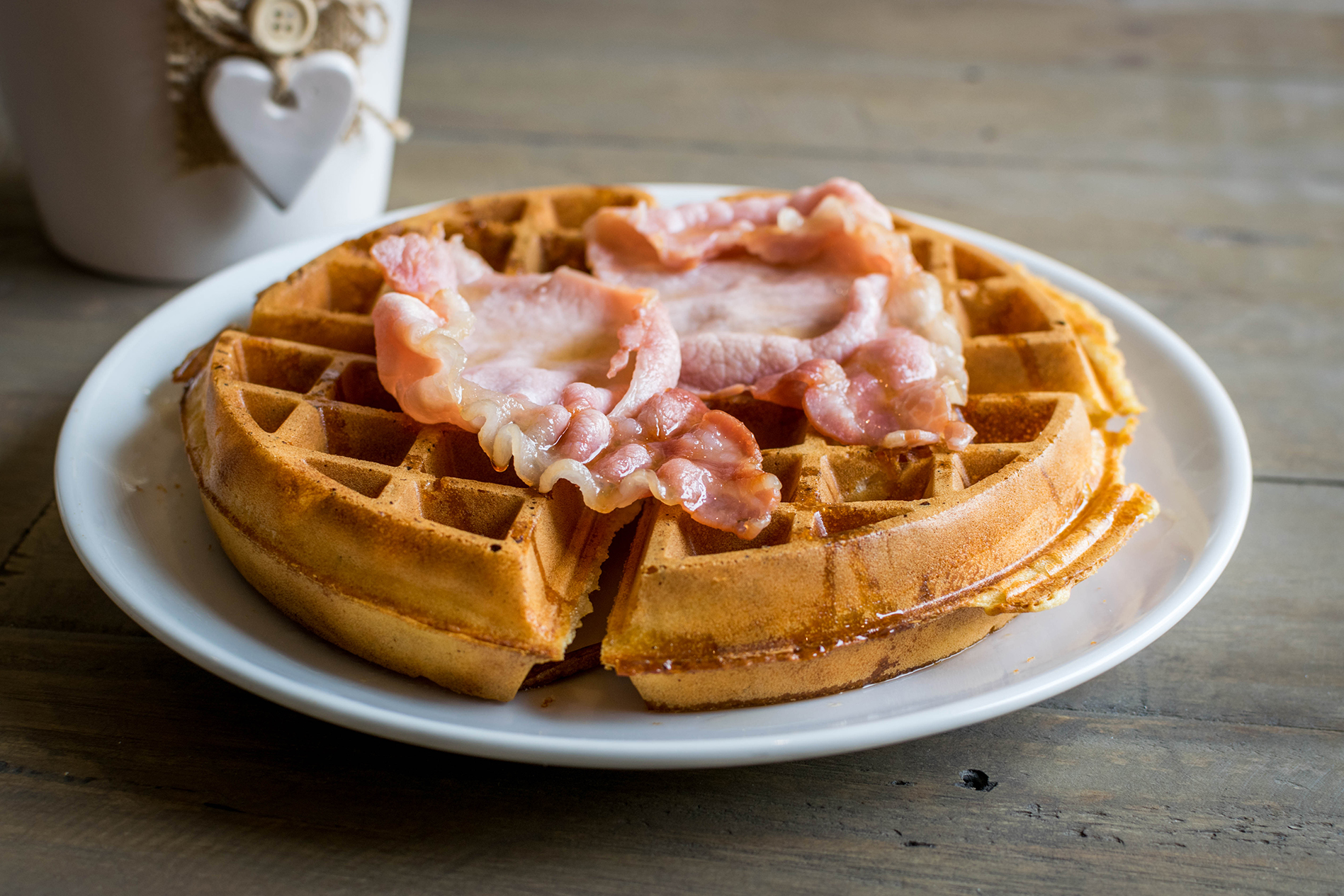 Food Photography - Waffles