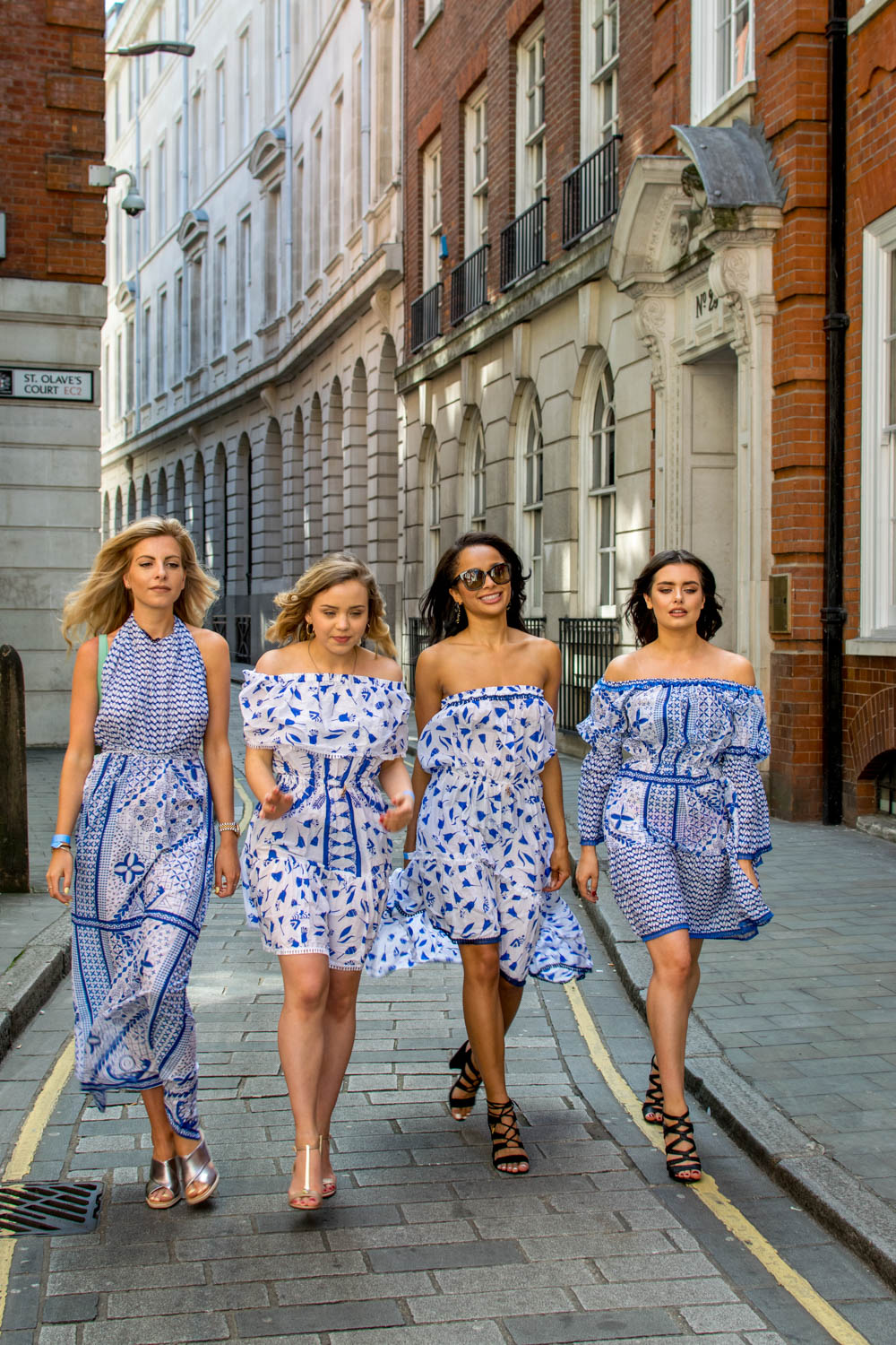 Summer Dresses in London group shoot