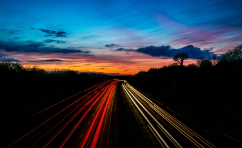 Light trial under the A11 near Wymondham
