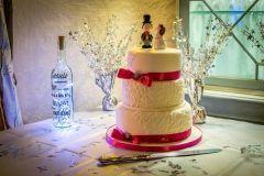 Wedding of Christine and John - Wedding cake photography