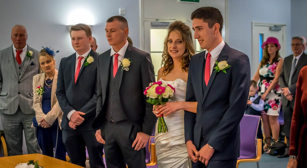 Service in Wedding photography East Dereham Registry Office Norfolk