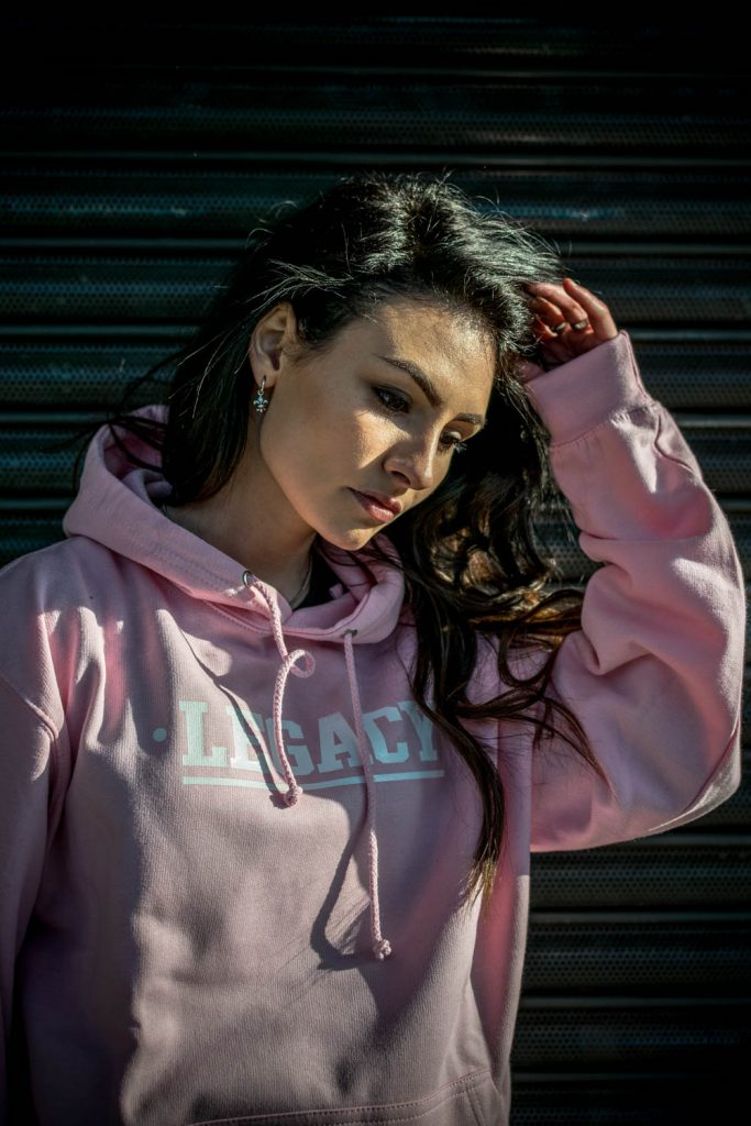 Pink Hoody from Legacy Streetwear fashion