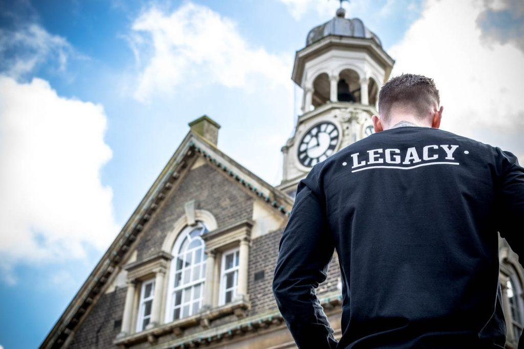 Black long sleeve shirt Legacy Streetwear fashion