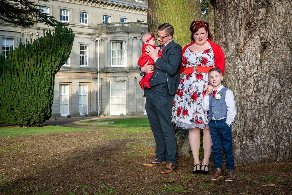 Family wedding group ipswich
