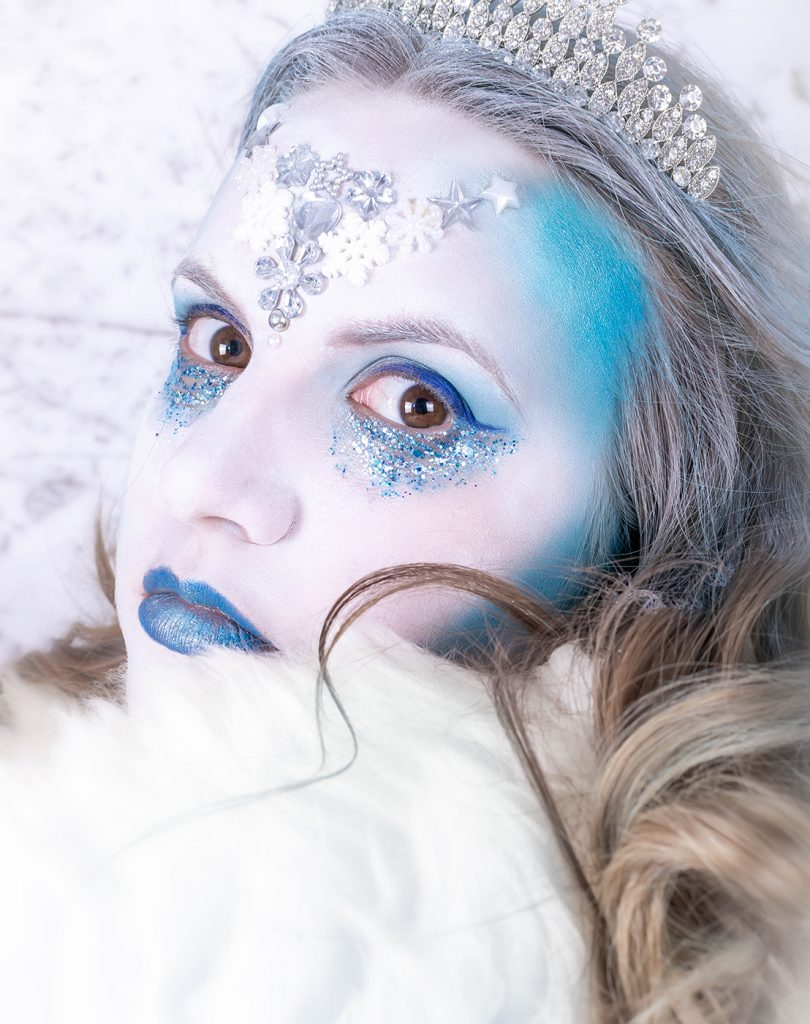 Snow queen winter shoot