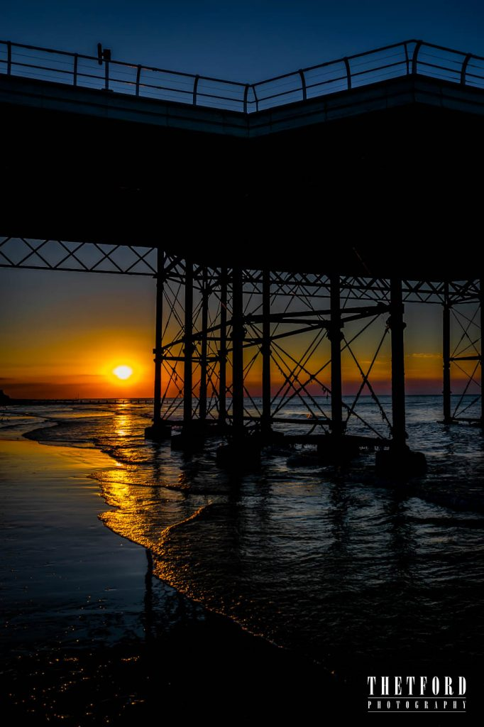 Cromer Pier, Norfolk, Sunset