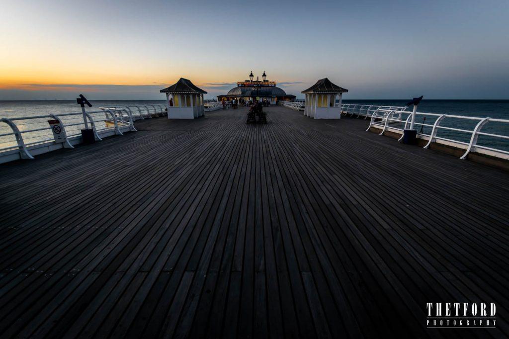 Cromer Pier, Norfolk, Sunset