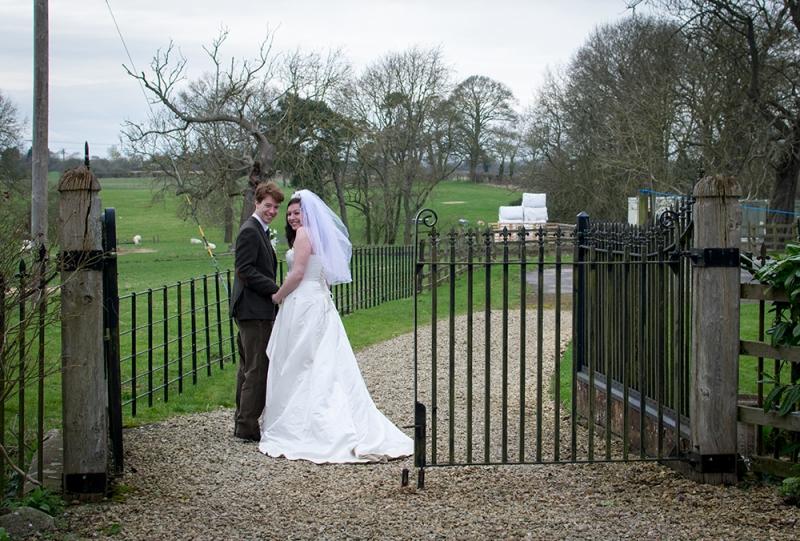 Wedding photography couple