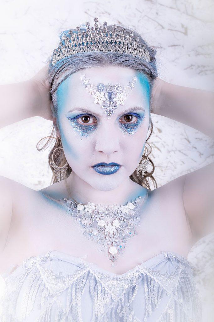Snow queen winter shoot