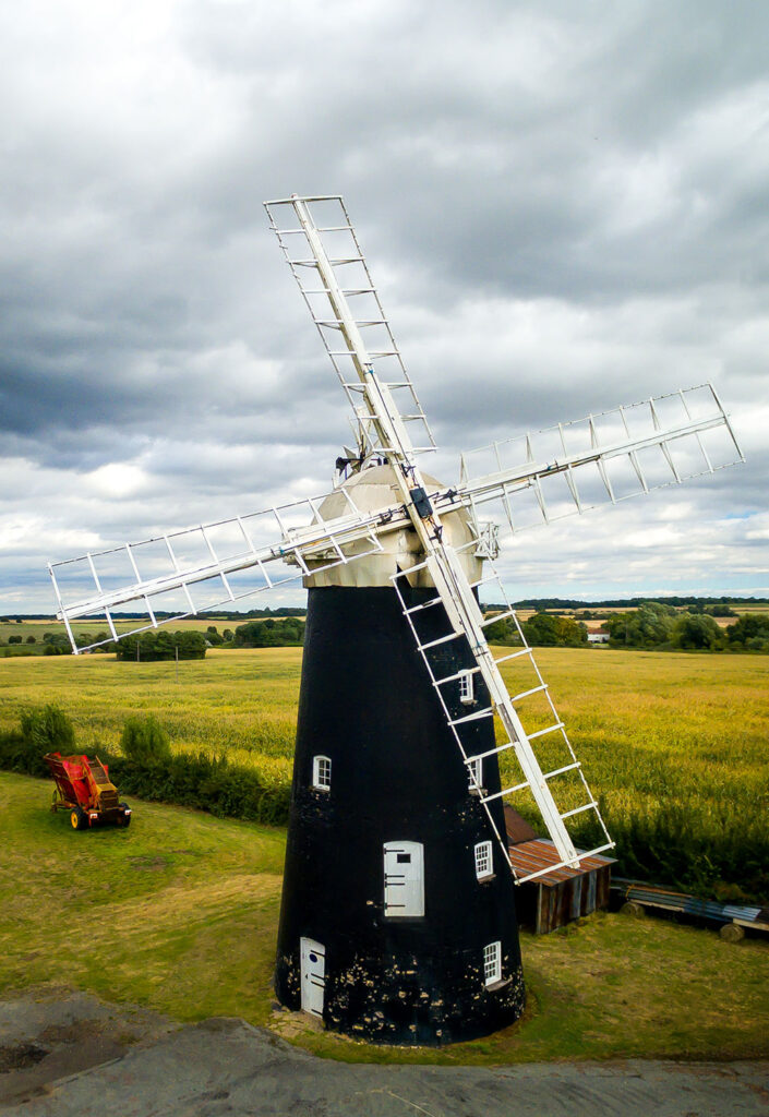 Drone Photography Windmill Suffolk