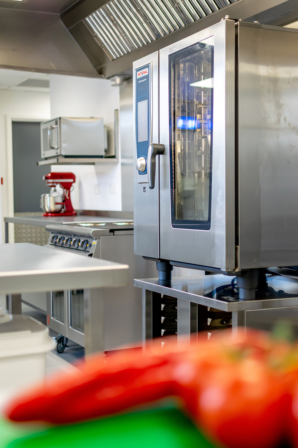 Commercial Kitchen Interior photograph